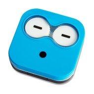 Balvi Набор для контактных линз Emoji, 6.5х6.7х2 см, синий, 4 пр.