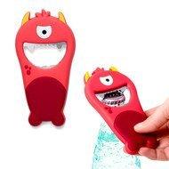 Balvi Открывалка магнитная Monster, 12.5х6.5х1 см, красная