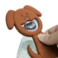Balvi Открывалка магнитая Woof!, 13х9х0.5 см, коричневая