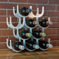 Balvi Подставка для бутылок Basics, 49х14.3х37 см, белая