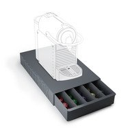 Balvi Подставка для кофейных капсул Coffee Box, 37х22х5.5 см, серая