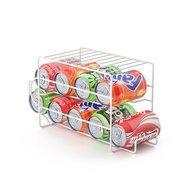 Balvi Подставка для напитков в алюминиевых банках Basics, 37.5х14х18.5 см, белая