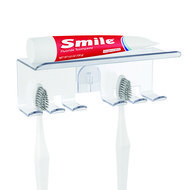 Balvi Полка для зубной пасты и щеток Basics, 15.5х6х6 см