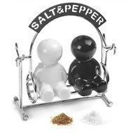 Balvi Солонка и перечница Salt&Pepper, 12.5х5х12.5 см