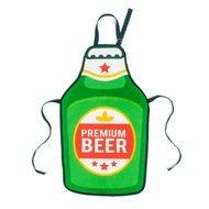 Balvi Фартук Beer, 52х88 см, зеленый