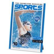 Balvi Фоторамка Sports 15x20, 16.5х21.9х0.8 см, синяя