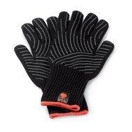 Weber Перчатки для гриля L/XL, 33.1х17.1х0.8 см, черные, 2 шт.