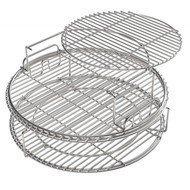 Набор многоуровневых стальных решеток для гриля ХL, 5 частей