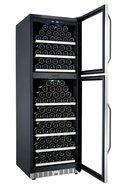 La Sommeliere Шкаф для длительного хранения вина Prestige, двухзонный, 165 бутылок
