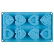 Guffman Форма для выпечки кексов Amore, 30х17.5х3.3 см, голубая
