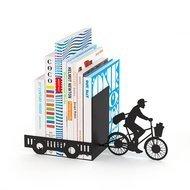 Balvi Держатель для книг Postman, 27x10x17, черный