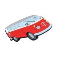 Balvi Подставка под горячее Van, 18х12.3х0.7 см, магнитная, красная
