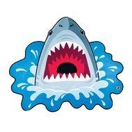 BigMouth Покрывало пляжное Shark, 191х152х0.5 см