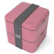 Monbento Ланч-бокс MB Square blush (1.7 л), 14.8х14.3х14.3 см, темно-розовый
