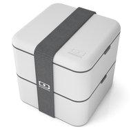 Monbento Ланч-бокс MB Square (1.7 л), 14.8х14.3х14.3 см, светло-серый