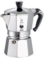 Bialetti Гейзерная кофеварка Moka Express (0.05 л), на 1 чашку