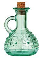 Bormioli Rocco Бутылка для масла и уксуса Olivia (220 мл), с пробкой, зеленая
