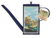 Kitchen Craft Ёмкость-лейка для масла World of Flavours Italian (0.5 л), 21.5x5.5x15 см, синяя