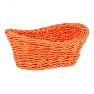 Viejo Valle Корзинка для хлеба Belvedere, 24x14.5x8.5 см, овал волнистый, оранжевый