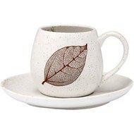 Ashdene Чашка с блюдцем Lantana White Stone (250 мл)