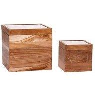 Hubsch Набор коробок для хранения, 2 шт