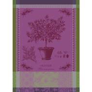Garnier-Thiebaut Полотенце Olivier en Pot Parme, 56х77 см