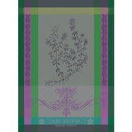 Garnier-Thiebaut Полотенце Brin de Thym Vert, 56х77 см