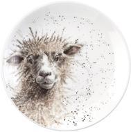 Royal Worcester Тарелка десертная Забавная фауна Овца, 16.5 см