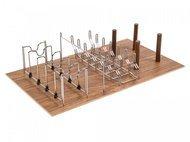 Rockenhausen Лоток для кастрюль и сковородок WoodLine в ящик Legrabox 900