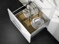 Rockenhausen Лоток с держателем для посуды WoodLine в Legrabox 600