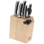 Nadoba Набор кухонных ножей, ножниц и блока для ножей с ножеточкой Ursa, 7 пр