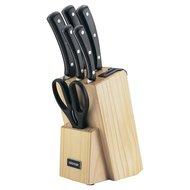 Nadoba Набор кухонных ножей и блока для ножей с ножеточкой Helga, 7 пр