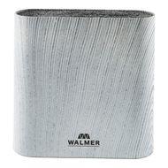Walmer Подставка для ножей Grey Lines, 21.5х6.1х23 см, овальная, серая