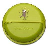 Carl Oscar Ланч-бокс для перекусов SnackDISC Monkey, лайм