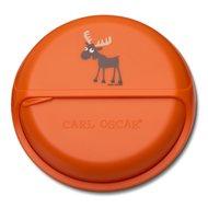 Carl Oscar Ланч-бокс для перекусов SnackDISC Moose, оранжевый
