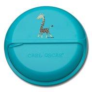 Carl Oscar Ланч-бокс для перекусов SnackDISC Spider Giraffe, бирюзовый