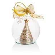 Lenox Украшение новогоднее, шар Елочка, 10 см, светящееся