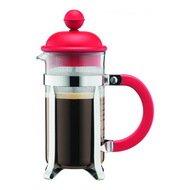 Bodum Кофейник с прессом Caffetiera (1 л), красный