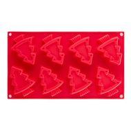 Walmer Форма для выпечки Winter, 29.3x17x3 см, красная