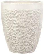 IDEALIST Кашпо Лотус Высокое Круглое, 28х33.5 см, слоновая кость