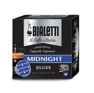 Bialetti Кофе Midnight в капсулах для кофемашин Bialetti, 16 шт