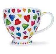 Dunoon Чашка чайная Добрые сердца (450 мл)