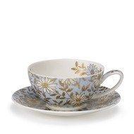 Dunoon Чашка чайная с блюдцем Аква (250 мл)
