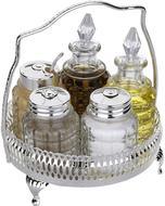 Queen Anne Набор для приправ и масла, 14 см, 7 пр