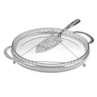 Queen Anne Блюдо сервировочное для закусок с лопаткой, 35 см