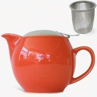 Zero Japan Чайник (0.45л), с крышкой, красный