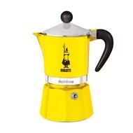 Bialetti Гейзерная кофеварка Rainbow на 3 чашки, желтая