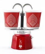Bialetti Гейзерная кофеварка Mini Express