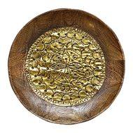 Roomers Блюдо, 17х2 см, цвет золотой
