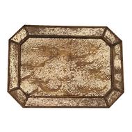 Roomers Поднос, 50х36х2 см, золотистый